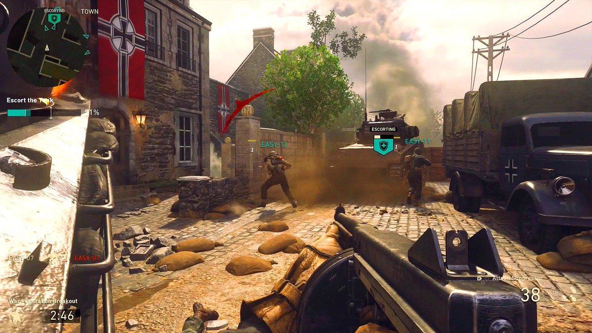 Авторы Call of Duty: WWII против читеров