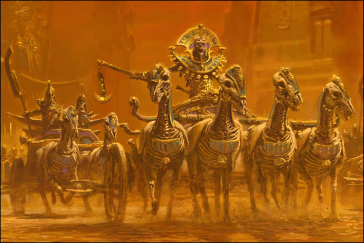 Дата релиза DLC Rise of the Tomb Kings к игре Total War: Warhammer 2