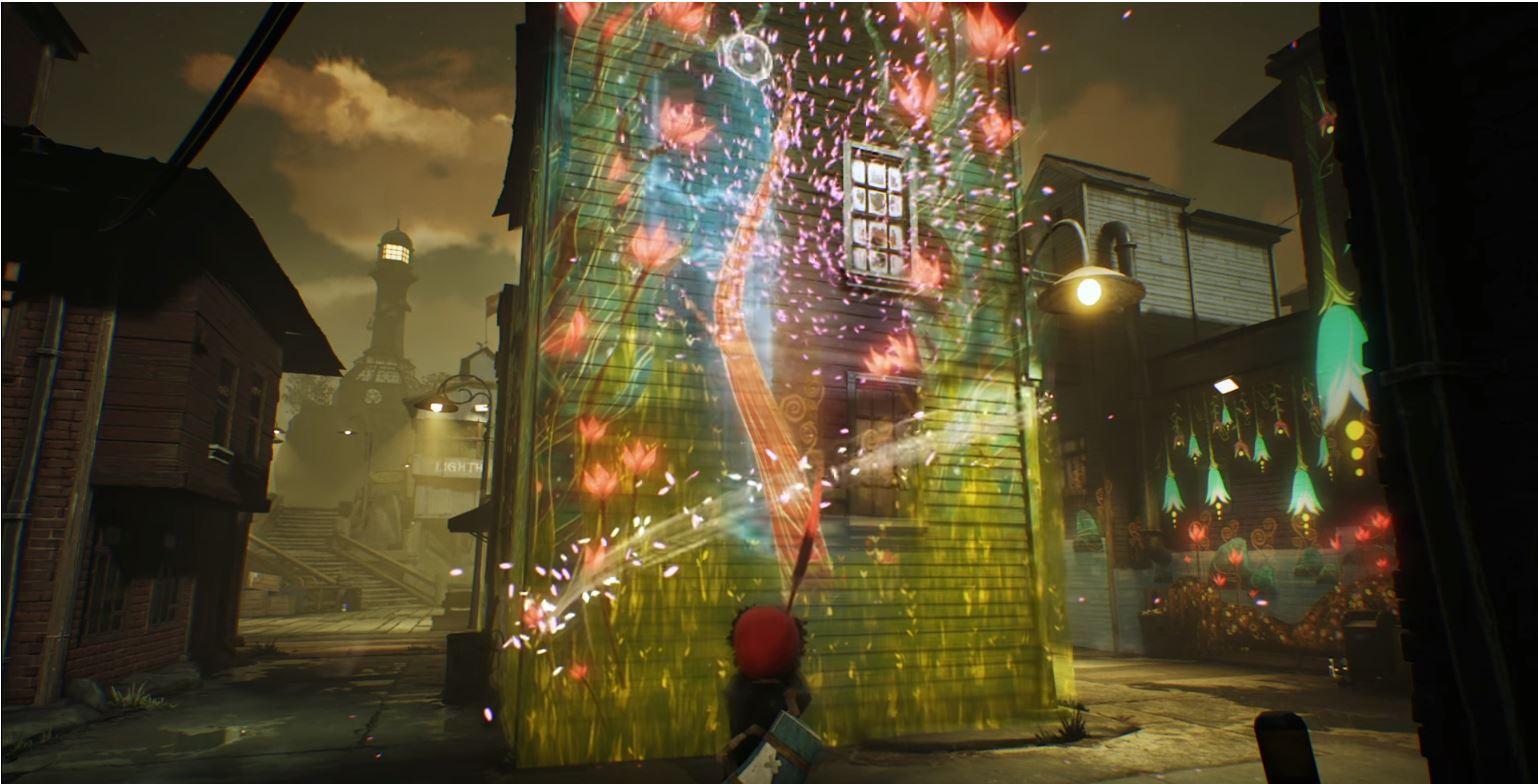Геймплей Concrete Genie на PSX 2017