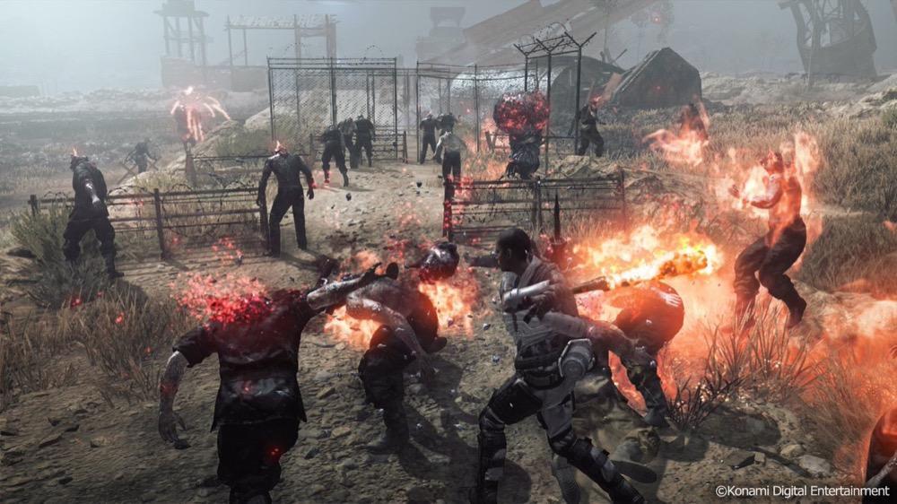 Открытый бета тест Metal Gear Survive