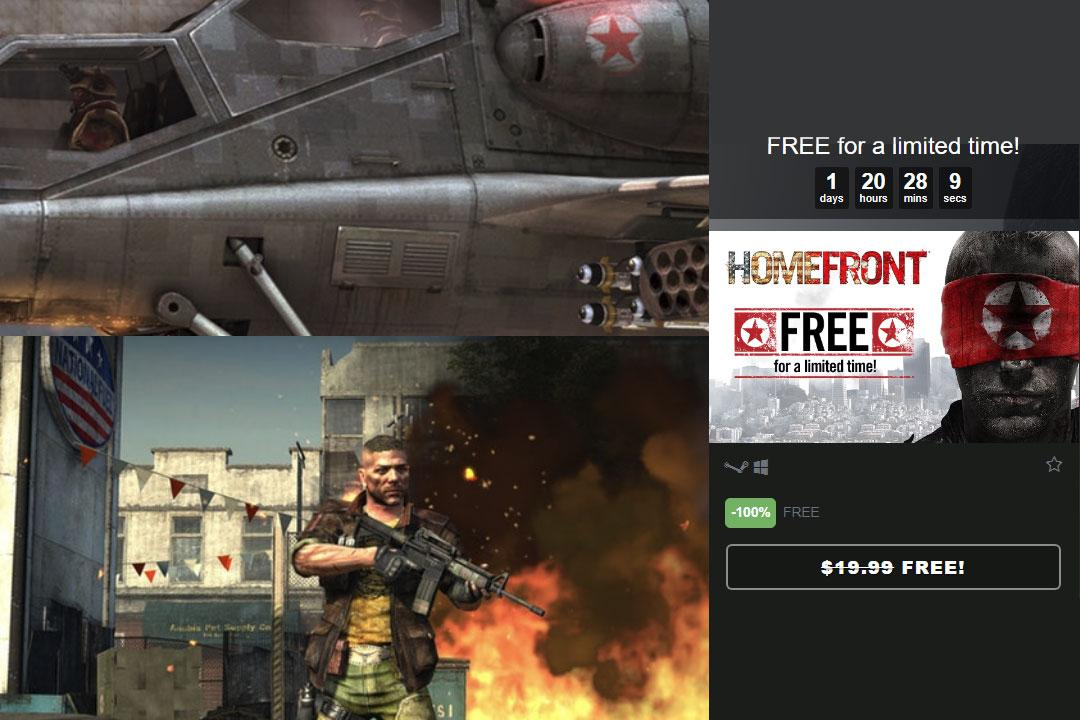 Сегодня можно отхватить Homefront в Steam на халяву