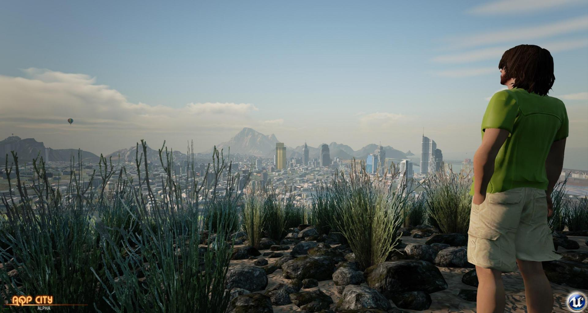 Трейлер игры AQP City или альтернатива играм серии GTA