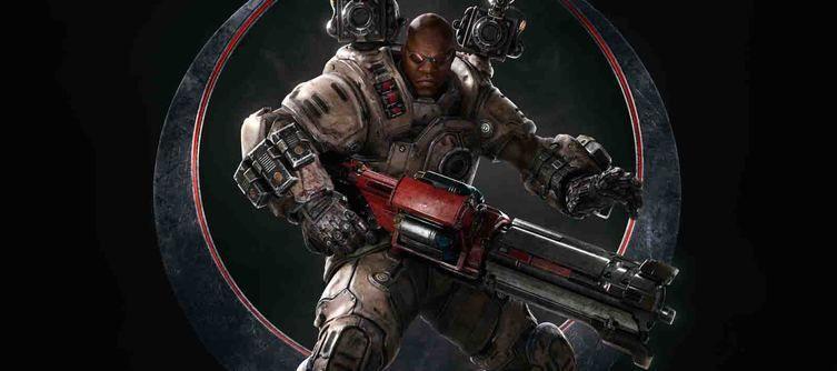 В Quake Champions появился новый боец - Keel