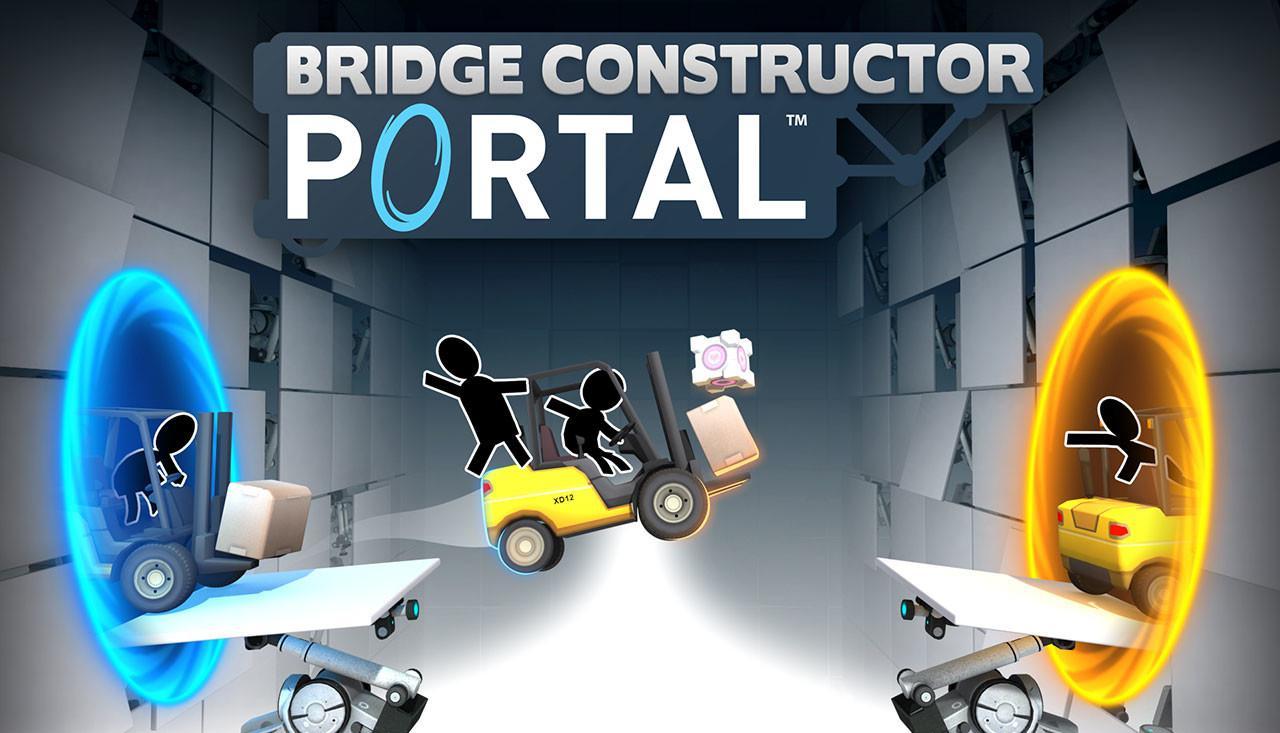 Видео геймплея Bridge Constructor Portal