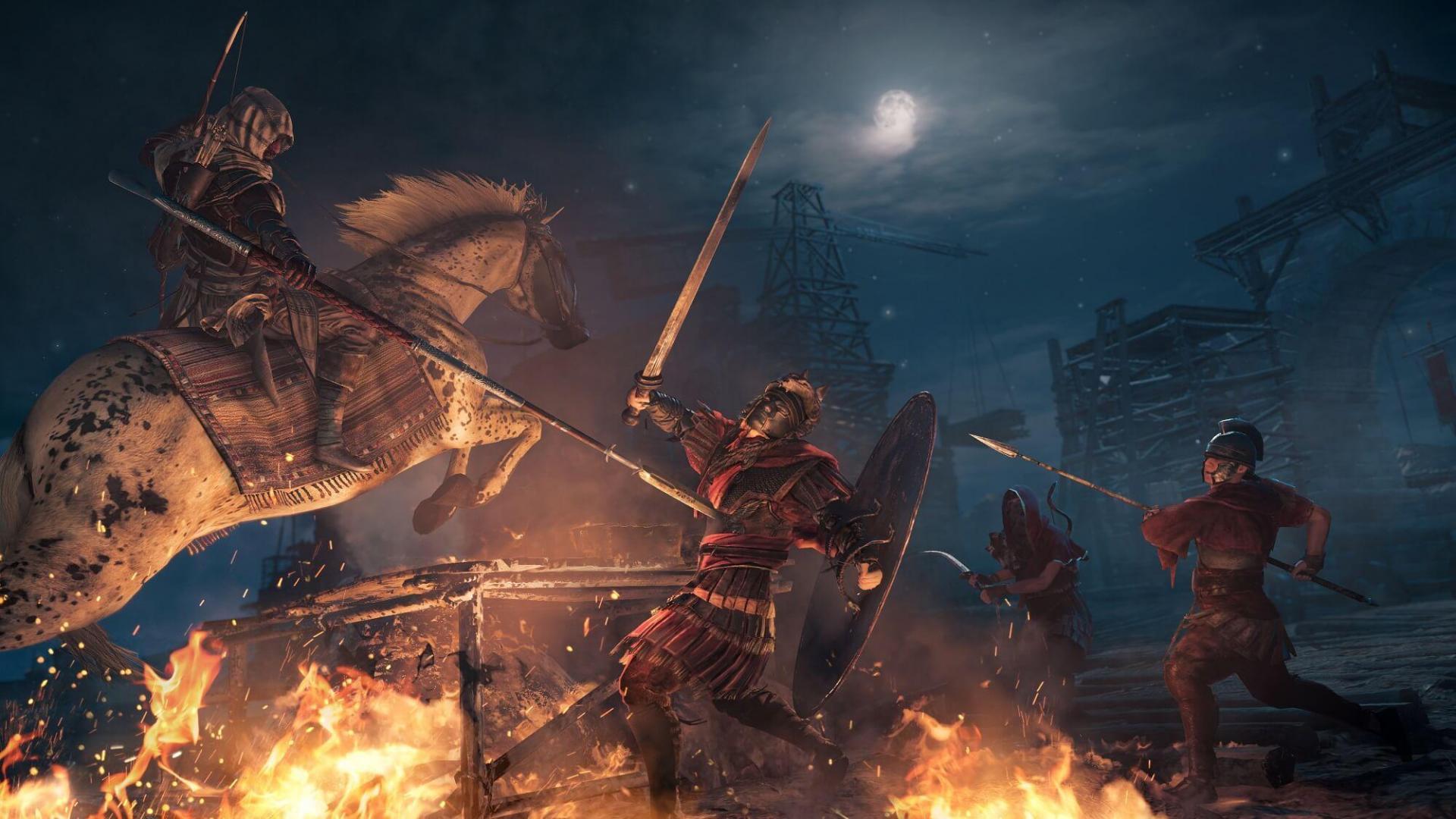 Assassin's Creed: Origins сопротивляется пиратам уже неделю