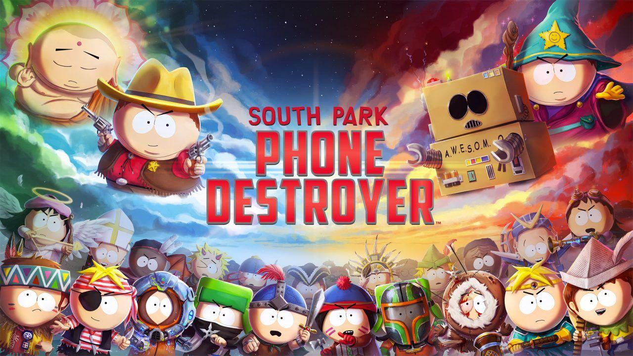 На мобильные платформы вышла игра South Park: Phone Destroyer
