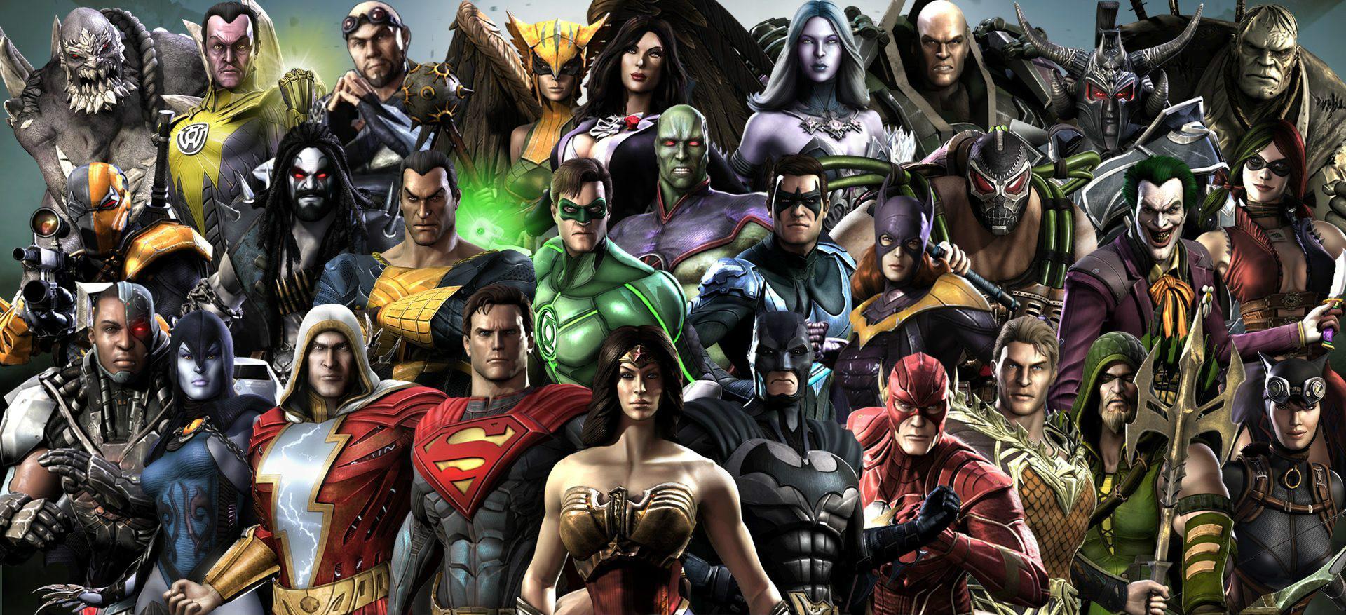 Файтинг Injustice 2 выйдет на PC