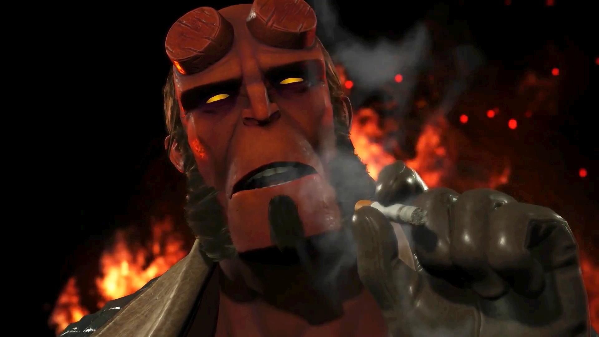 Новый персонаж Хеллбой в грядущей Injustice 2 на PC