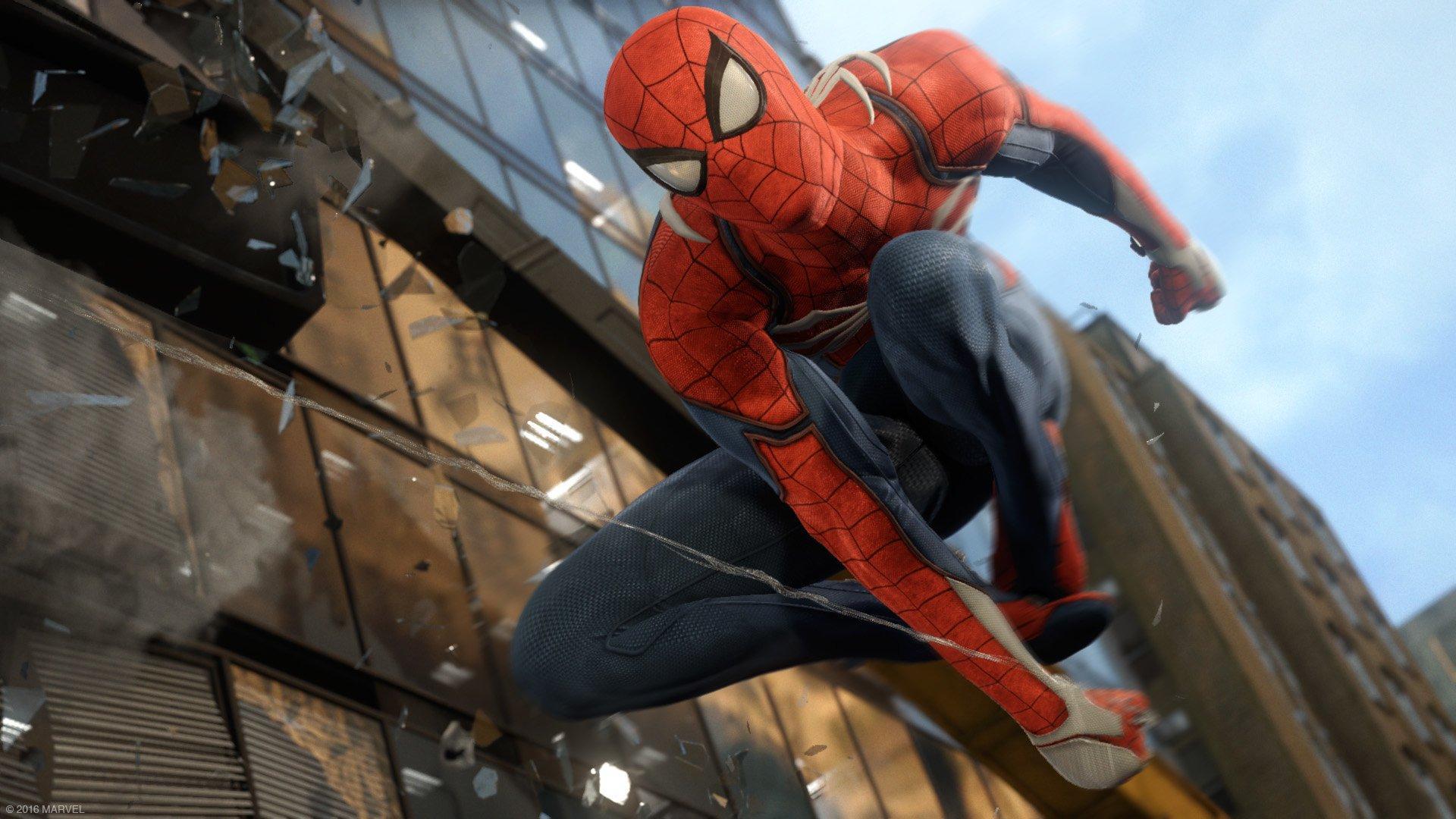 Трейлер новой игры о Человеке-Пауке