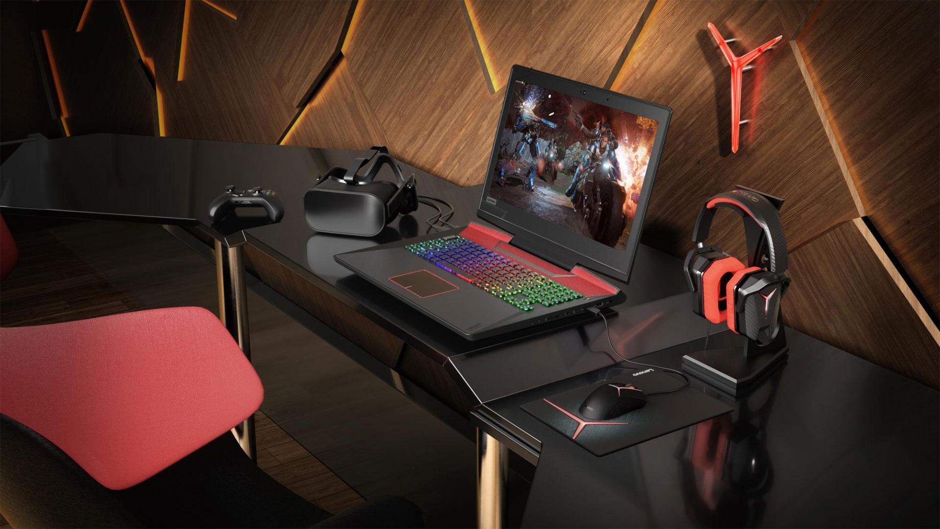 В октябре стартуют продажи игрового ноутбука Lenovo Legion Y920