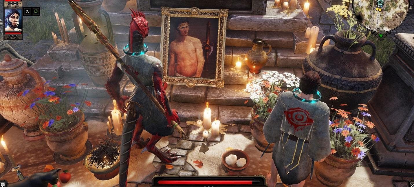 Забей босса его же портретом в Divinity: Original Sin 2