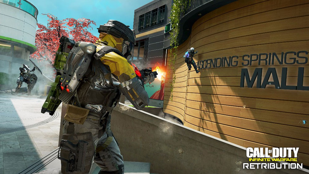 Call of Duty: Infinite Warfare Retribution выходит 12 сентября