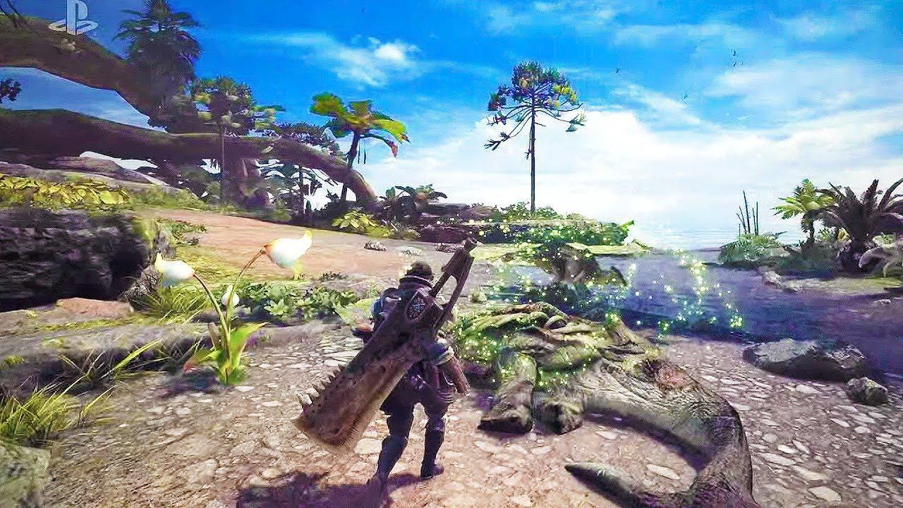 Monster Hunter: World выйдет в январе 2018 года