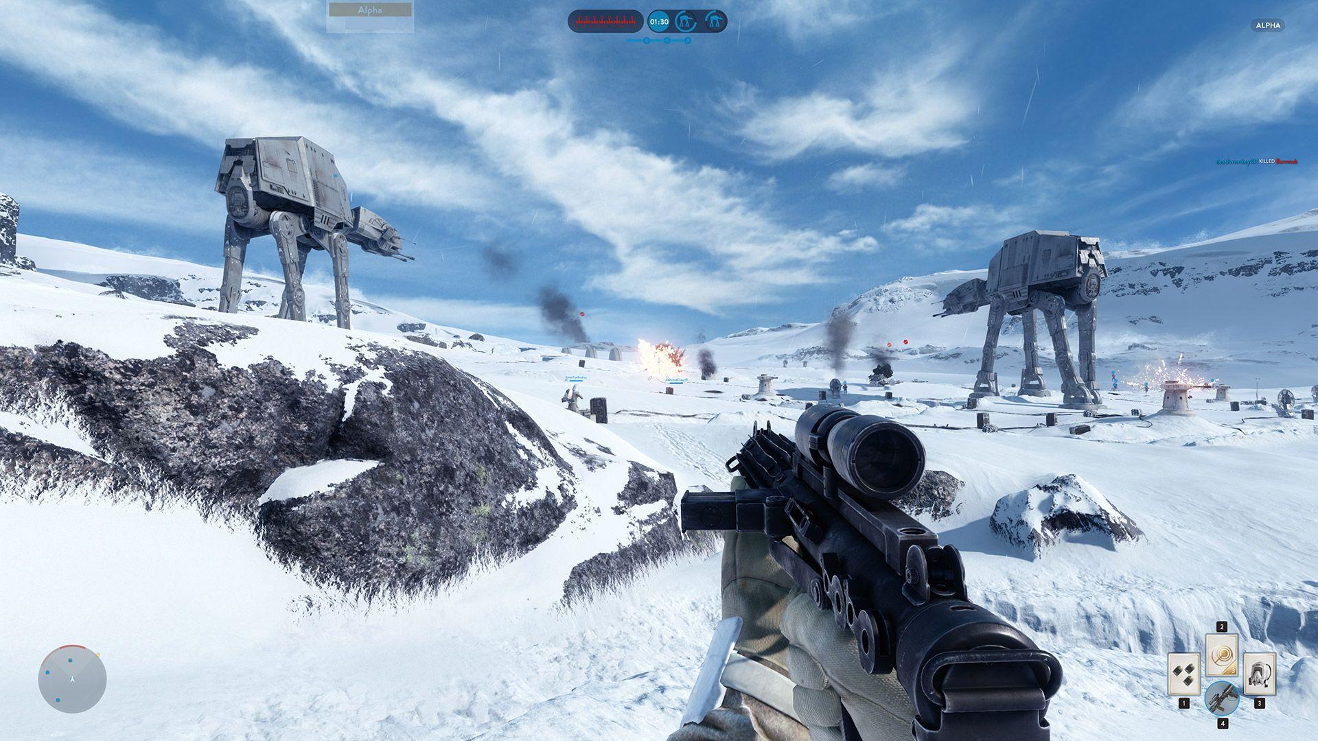 Новые карты в Star Wars Battlefront 2