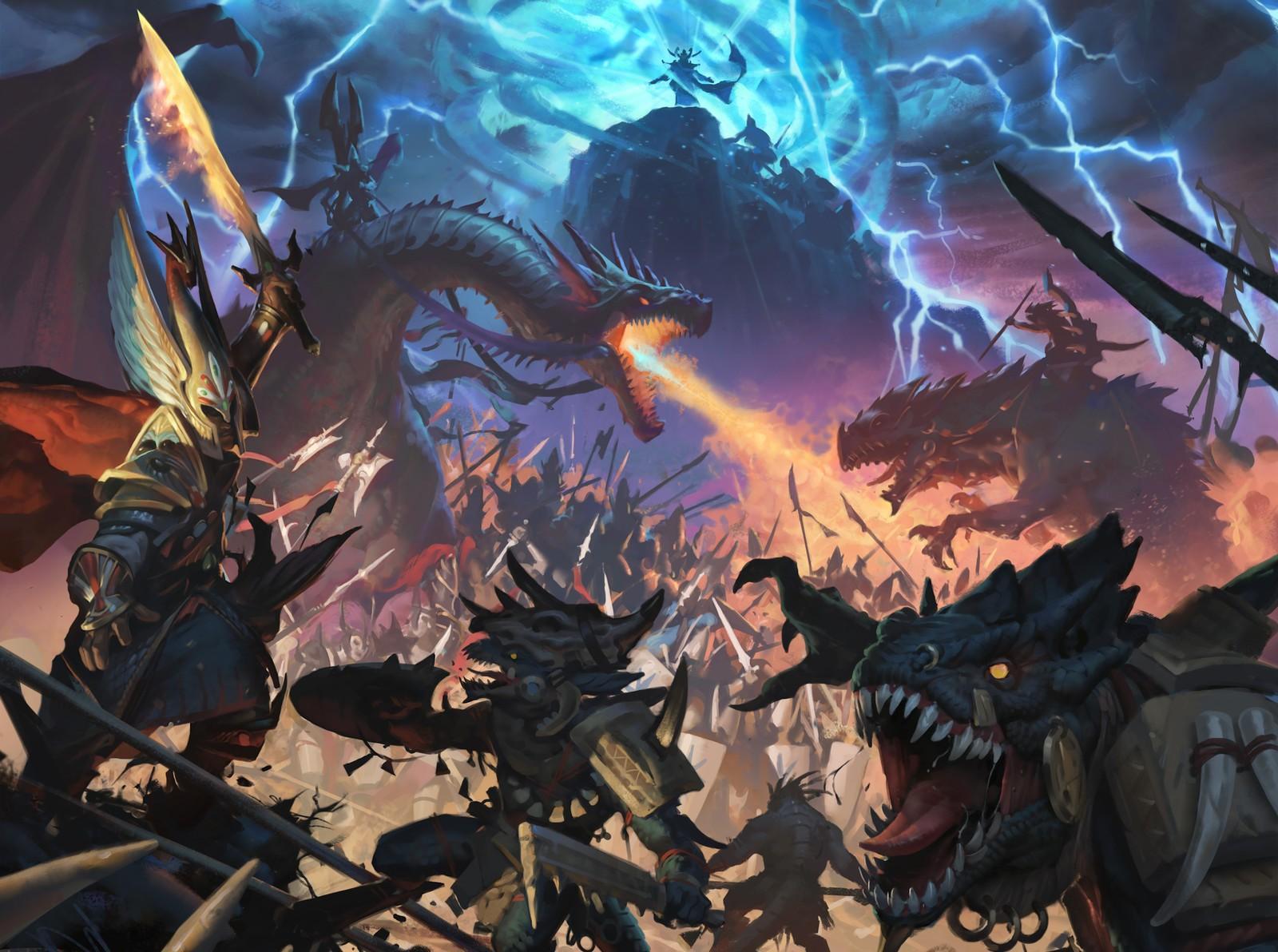 Огромная кампания, в которой объединяться 2 части Total War: Warhammer будет включать 117 фракций