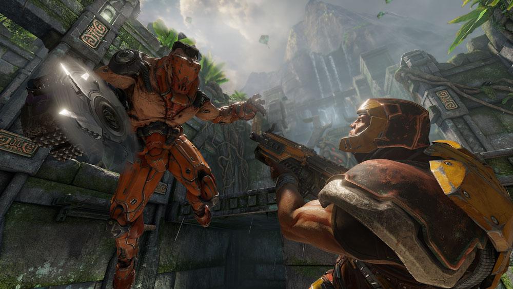 Онлайн шутер от первого лица Quake Champions не пользуется популярностью в Steam