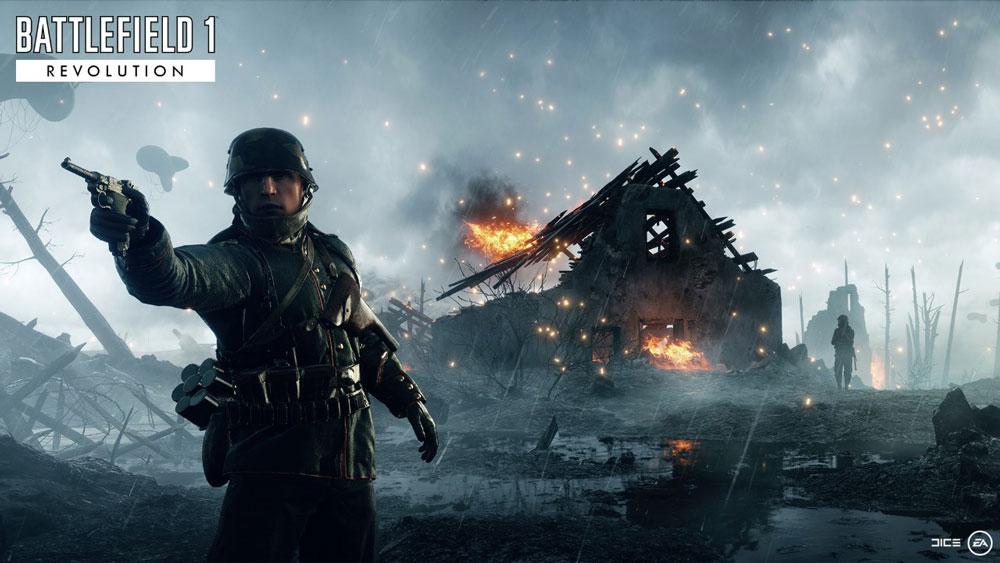 Раскрыли дату выхода DLC для Battlefield 1, посвященого Российской империи