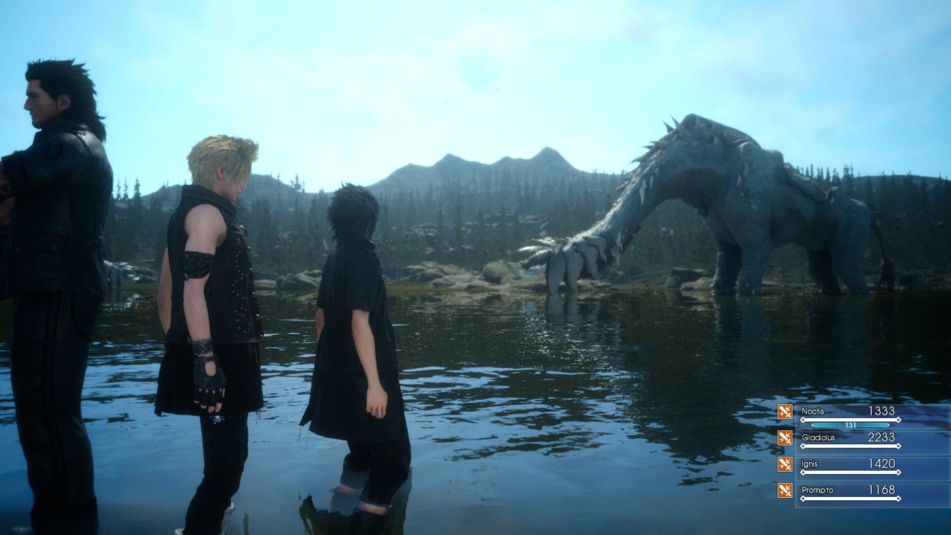 Вышло сюжетное DLC для Final Fantasy 15