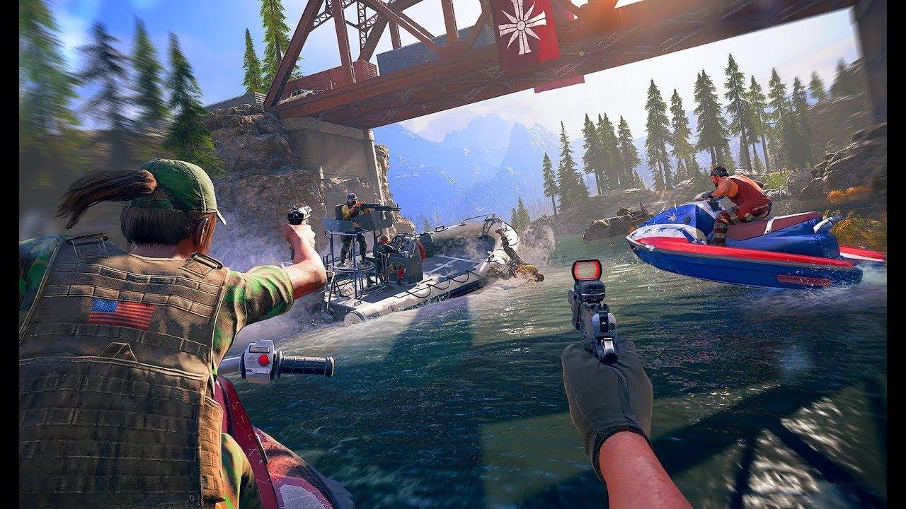 Far Cry 5 взломана ивыложена всеть