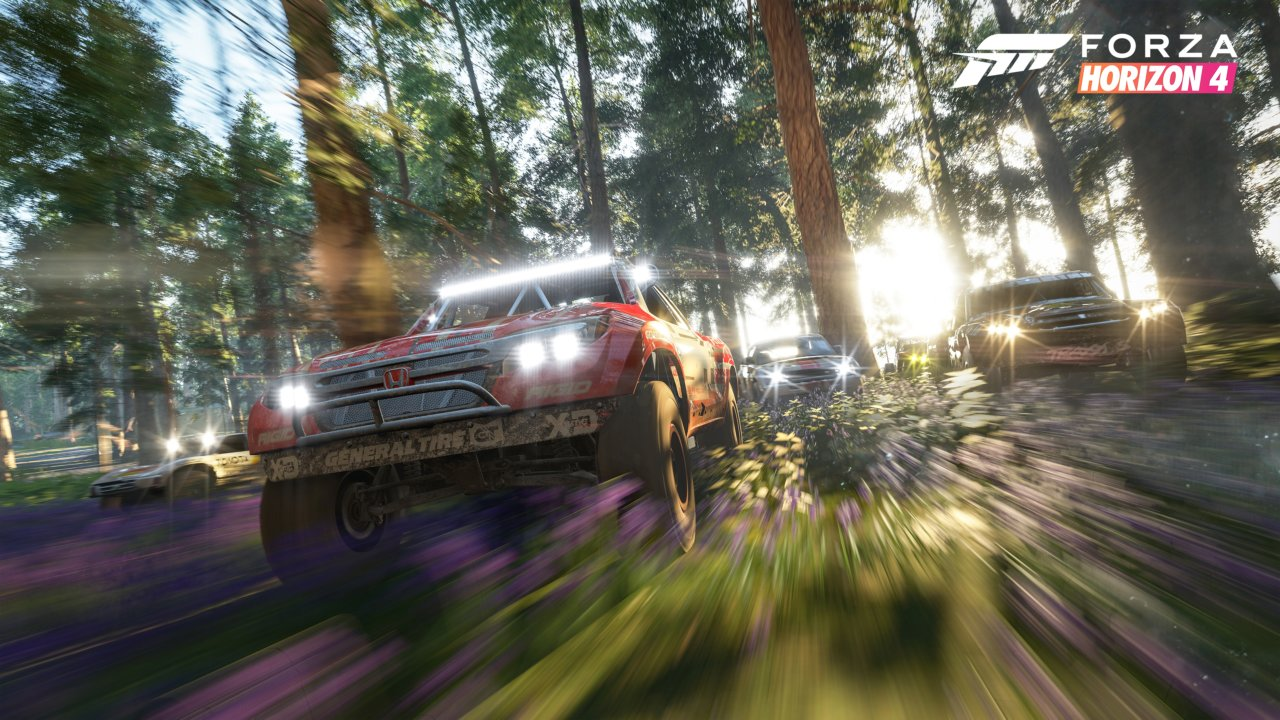Forza Horizon 4 будет наPCсHDR