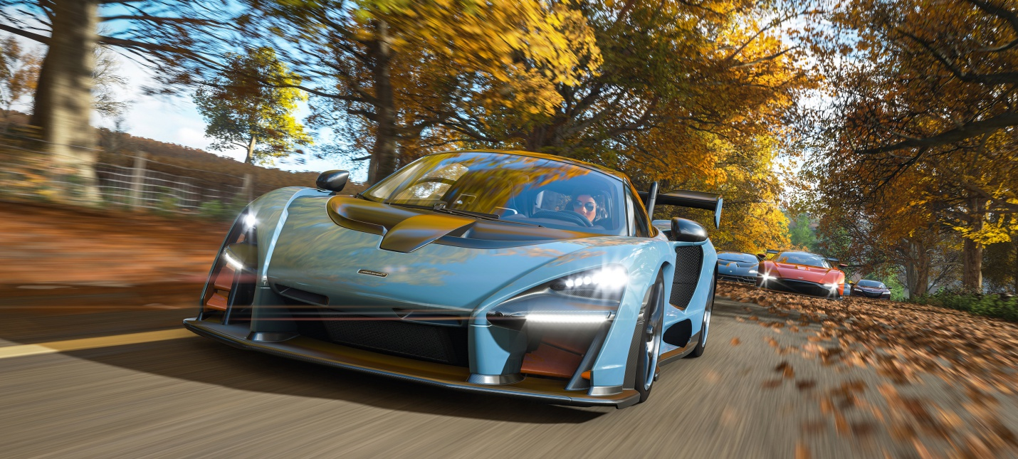 Forza Horizon 4 наgamescom 2018