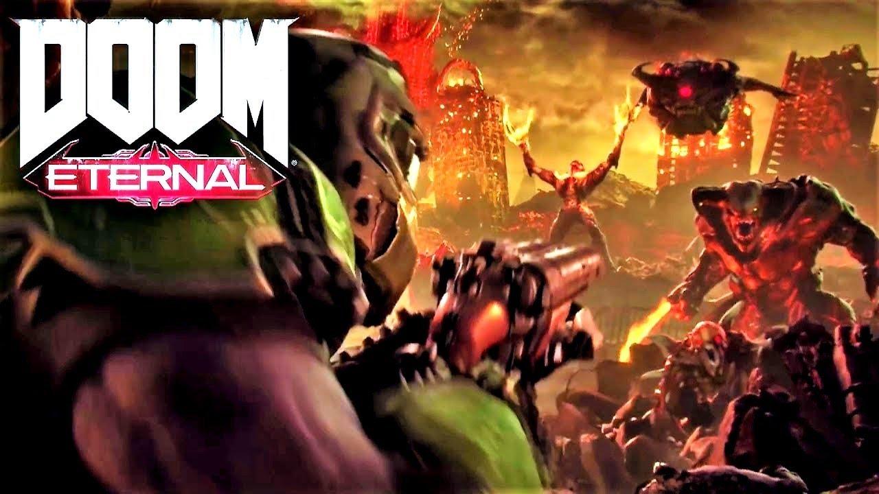 Геймплей Doom Eternal покажут уже наэтой недели