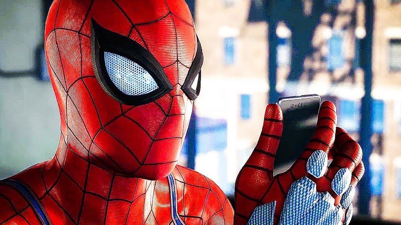 Оцените открытый мир втрейлере Spider-Man