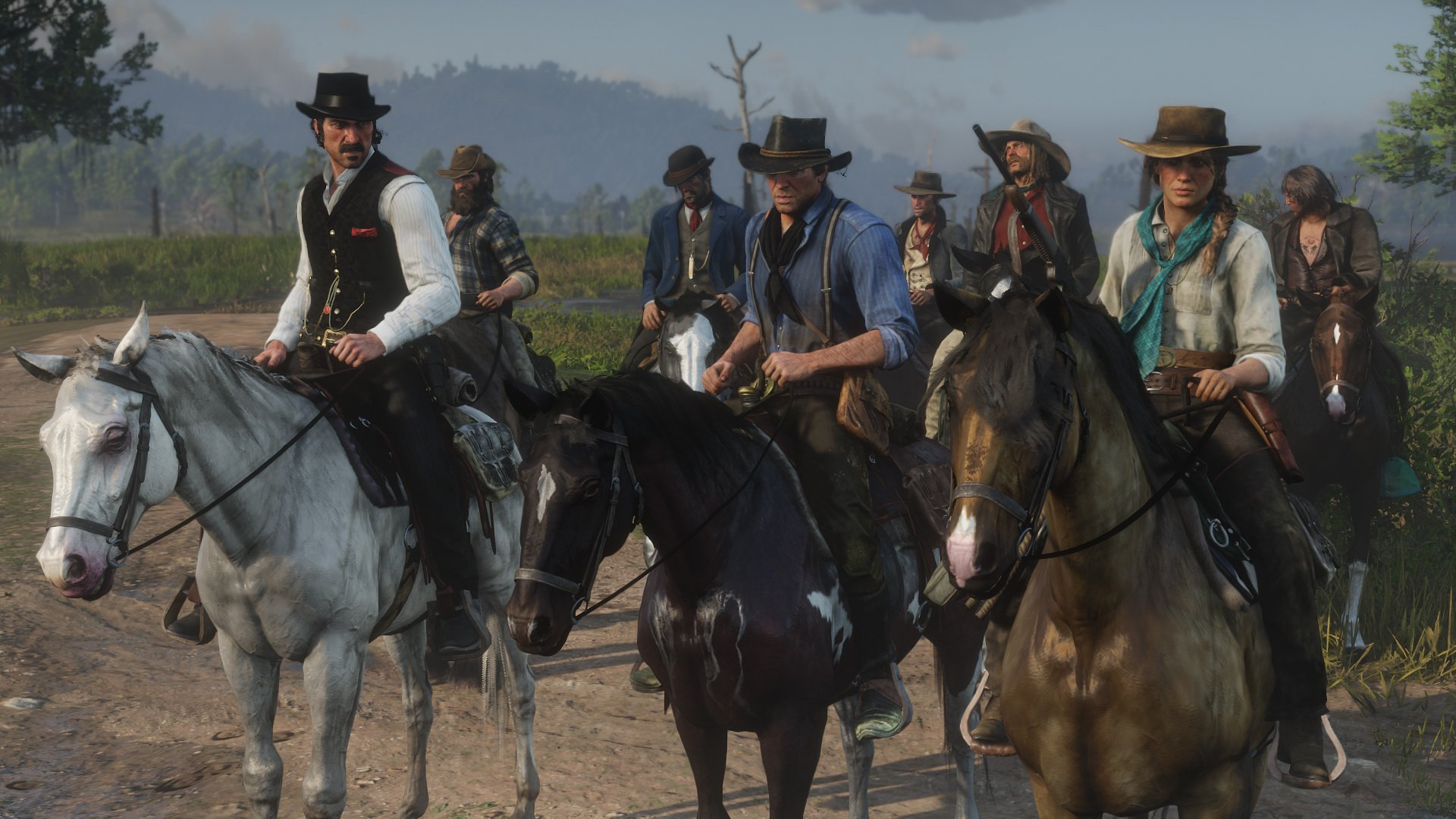 Подробности обигровом мире Red Dead Redemption 2
