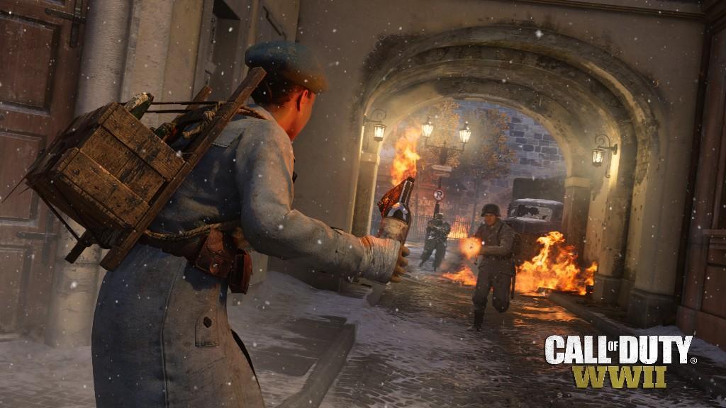 1 марта появится DLC The Resistance для Call of Duty: WWII, а пока ролик