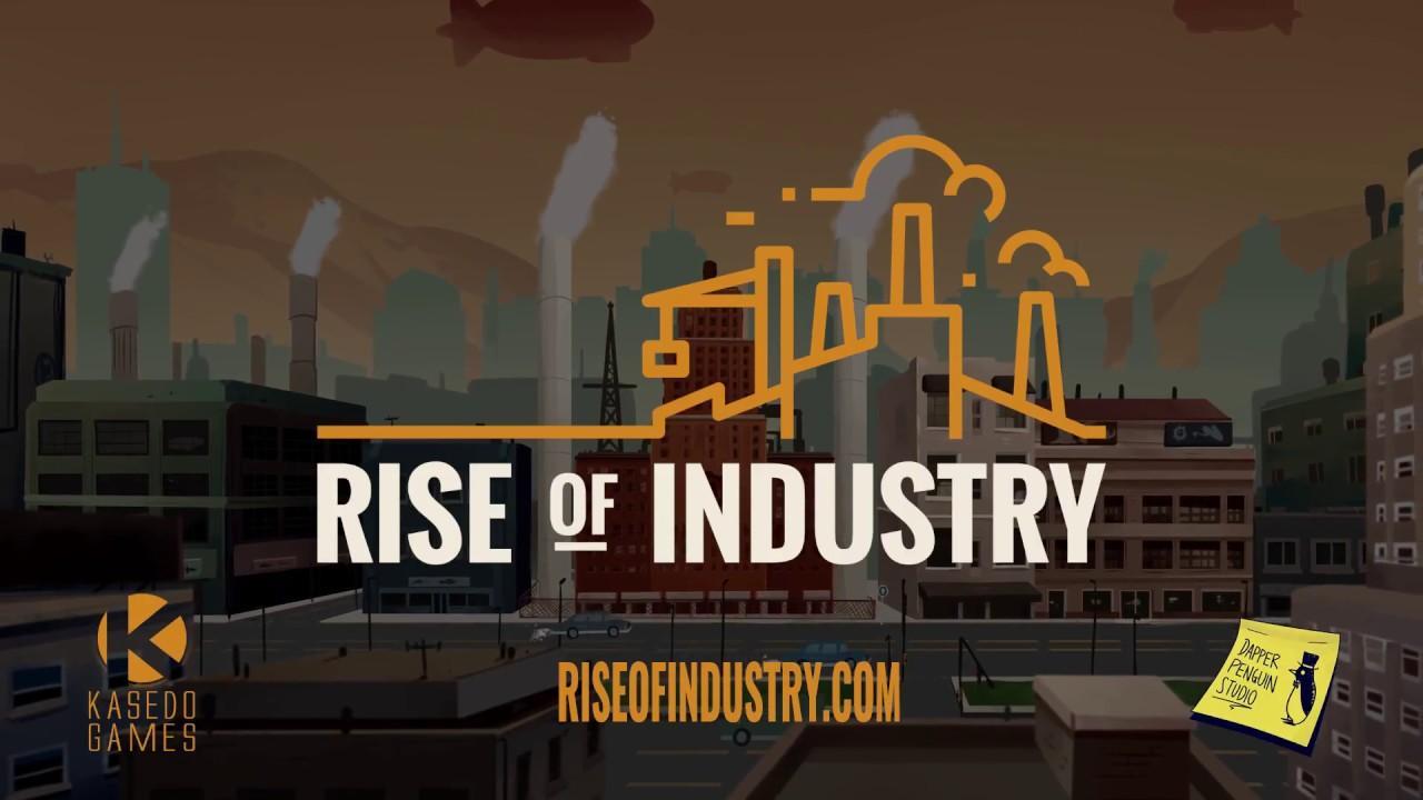 Сыграйте бесплатно в Rise of Industry через ранний доступ