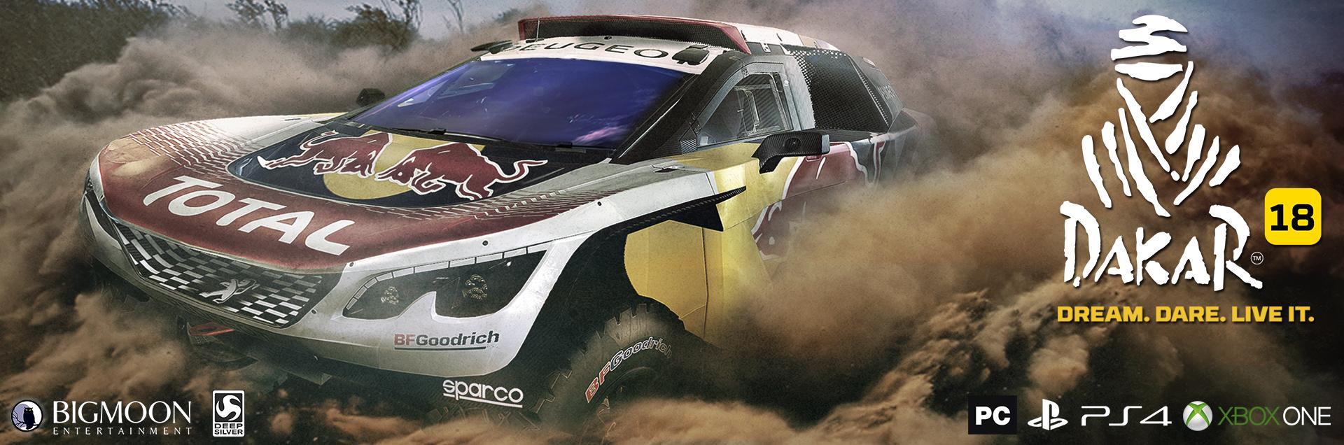 Анонс Dakar 18 - симулятор гонок ралли в большом открытом мире