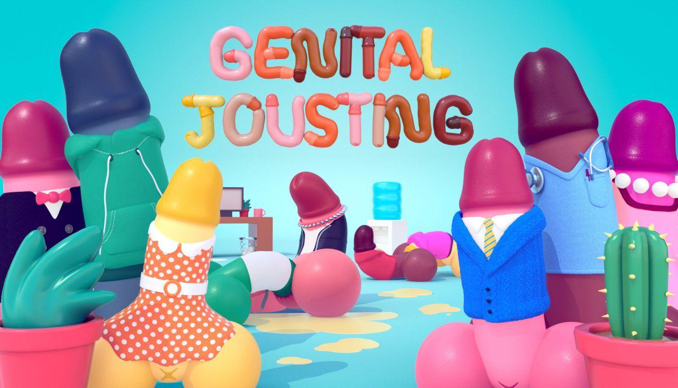 Анонс Genital Jousting или просто - симулятор пениса