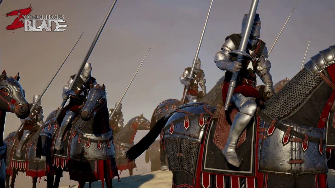 Огромный и интересный игровой мир в Conqueror's Blade