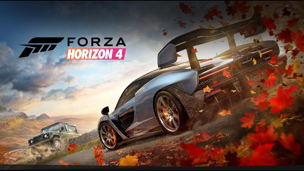 Час игрового процесса Forza Horizon 4