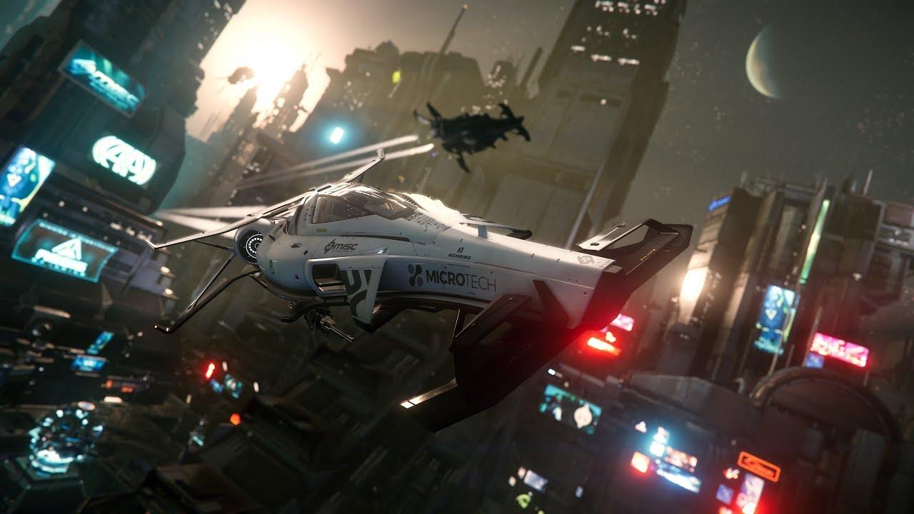 Альфа версию игры Star Citizen уже можно скачать