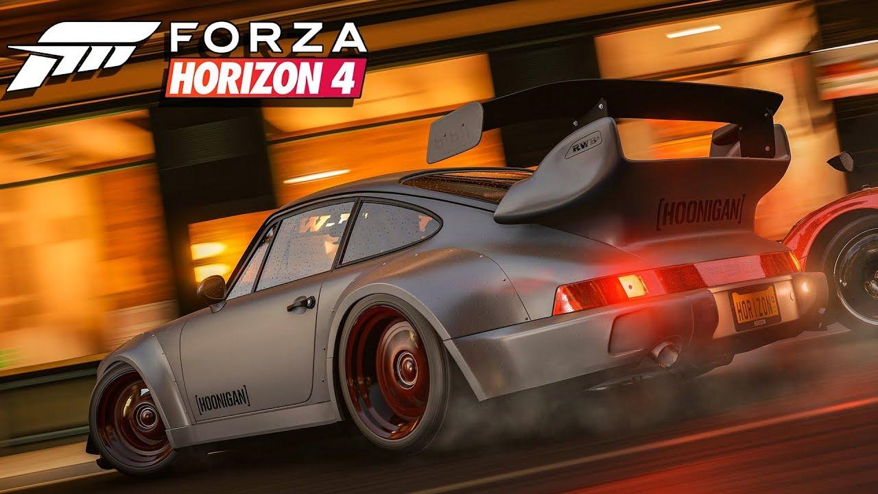 Forza Horizon 4 появилась наPCзанесколько месяцев дорелиза
