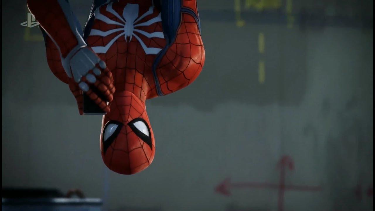 Геймплей игры Spider-Man сE3 2018