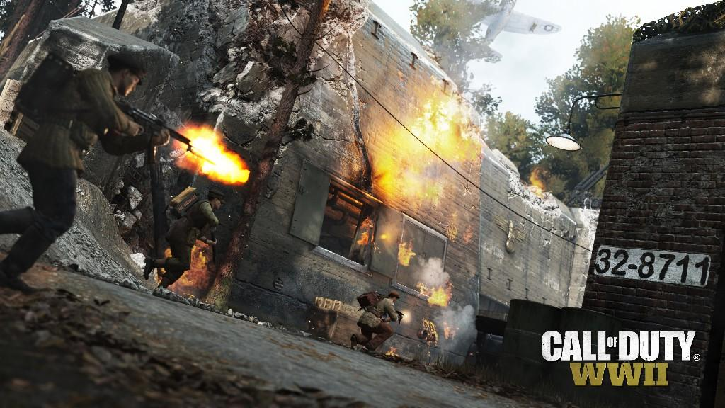 DLC The Resistance для Call of Duty: WWII доступно для скачивания
