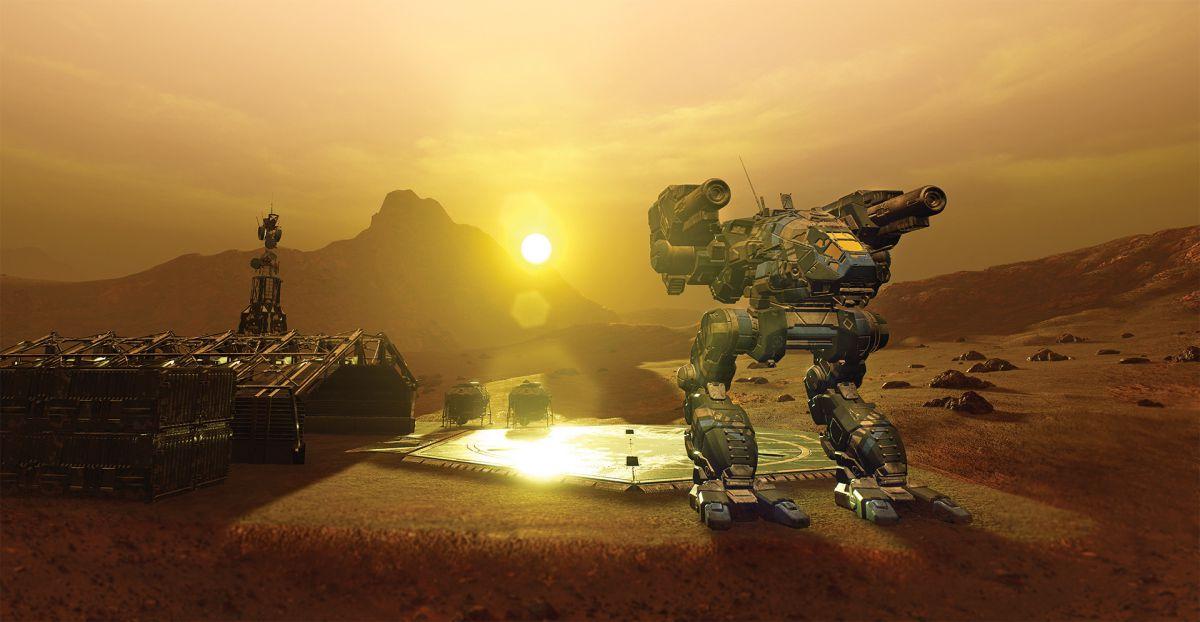 Эпичные схватки роботов вMechWarrior 5: Mercenaries