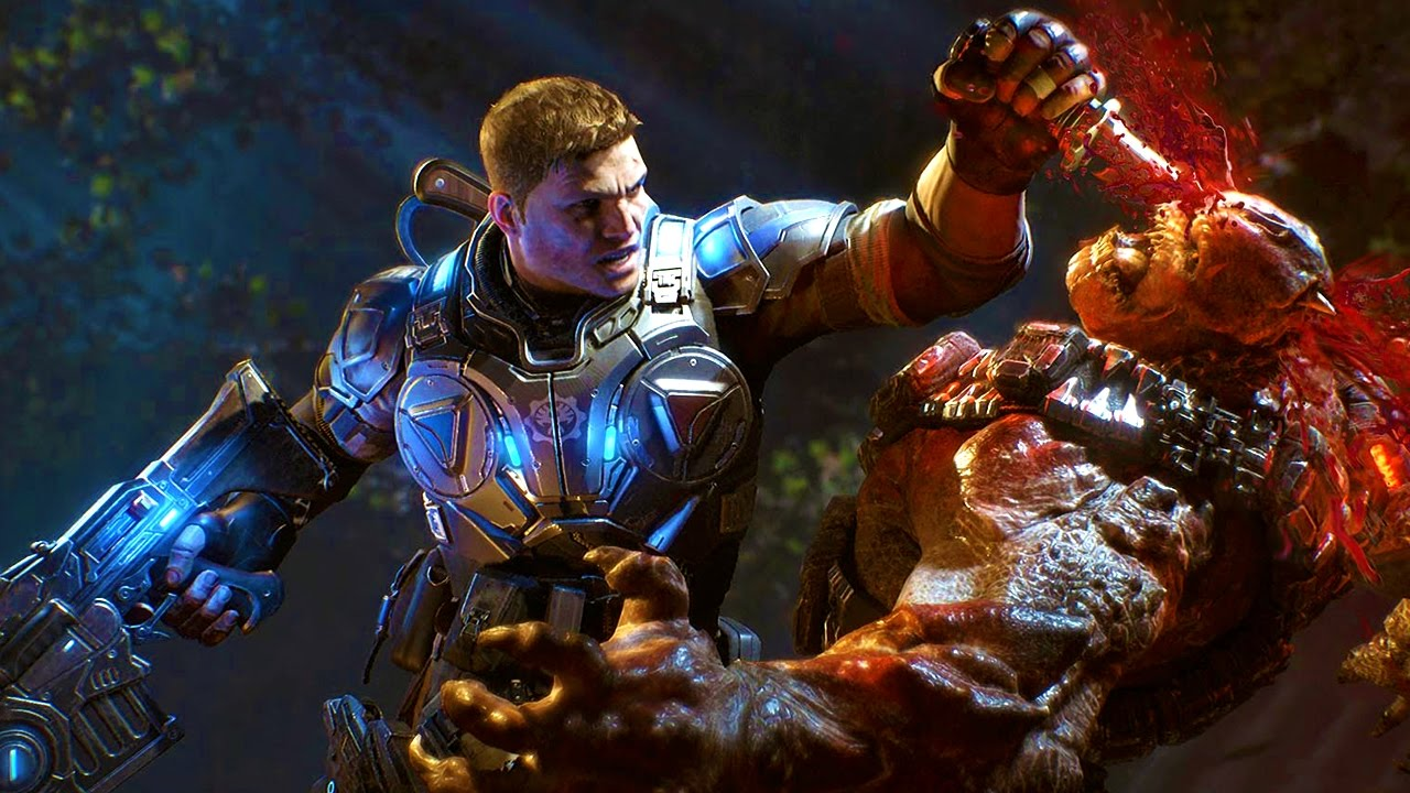 Gears of War 4 на PC взломана