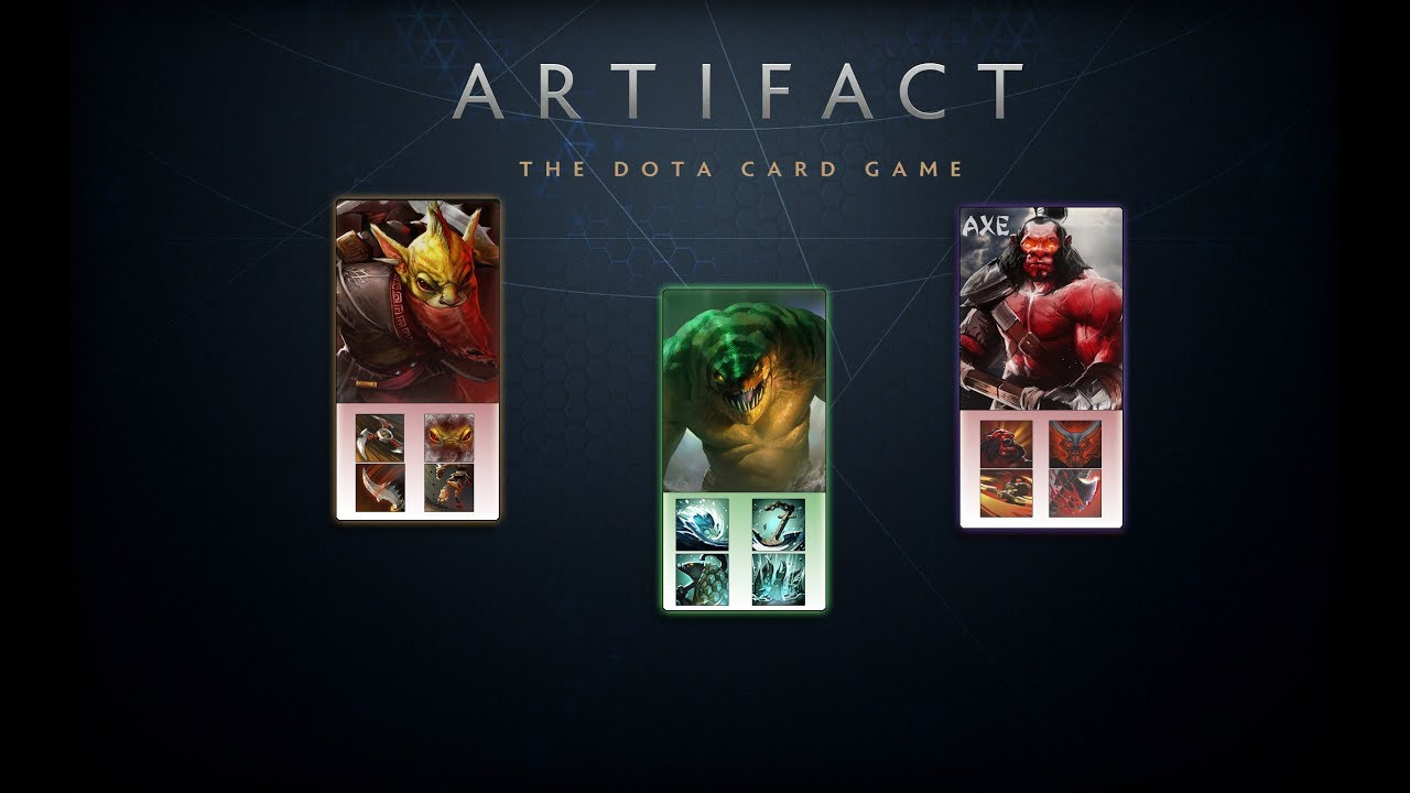 Новый проект отValve — игра Artifact