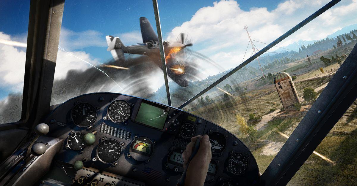 Яркие 20 минут геймплея Far Cry 5 от Ubisoft