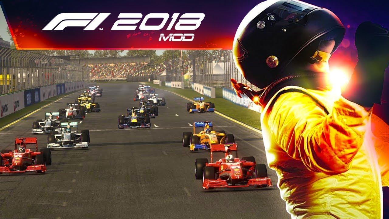 Анонс F1 2018
