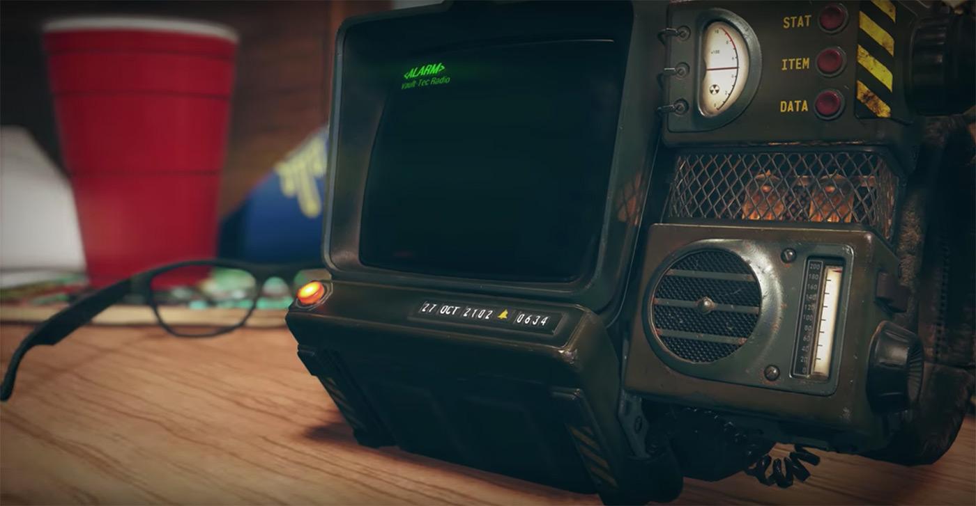 Анонс Fallout 76