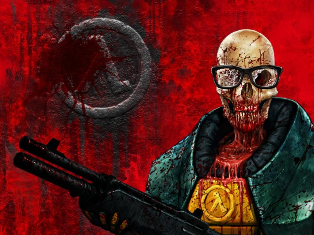 Brutal Half-Life или Half-Life скровью, кишками имясом