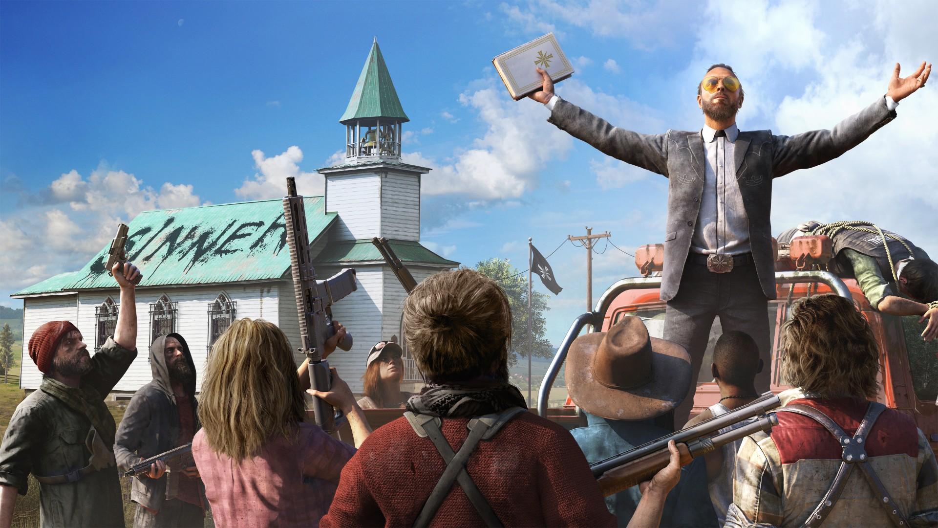 Far Cry 5 — вторая позначимости игра Ubisoft