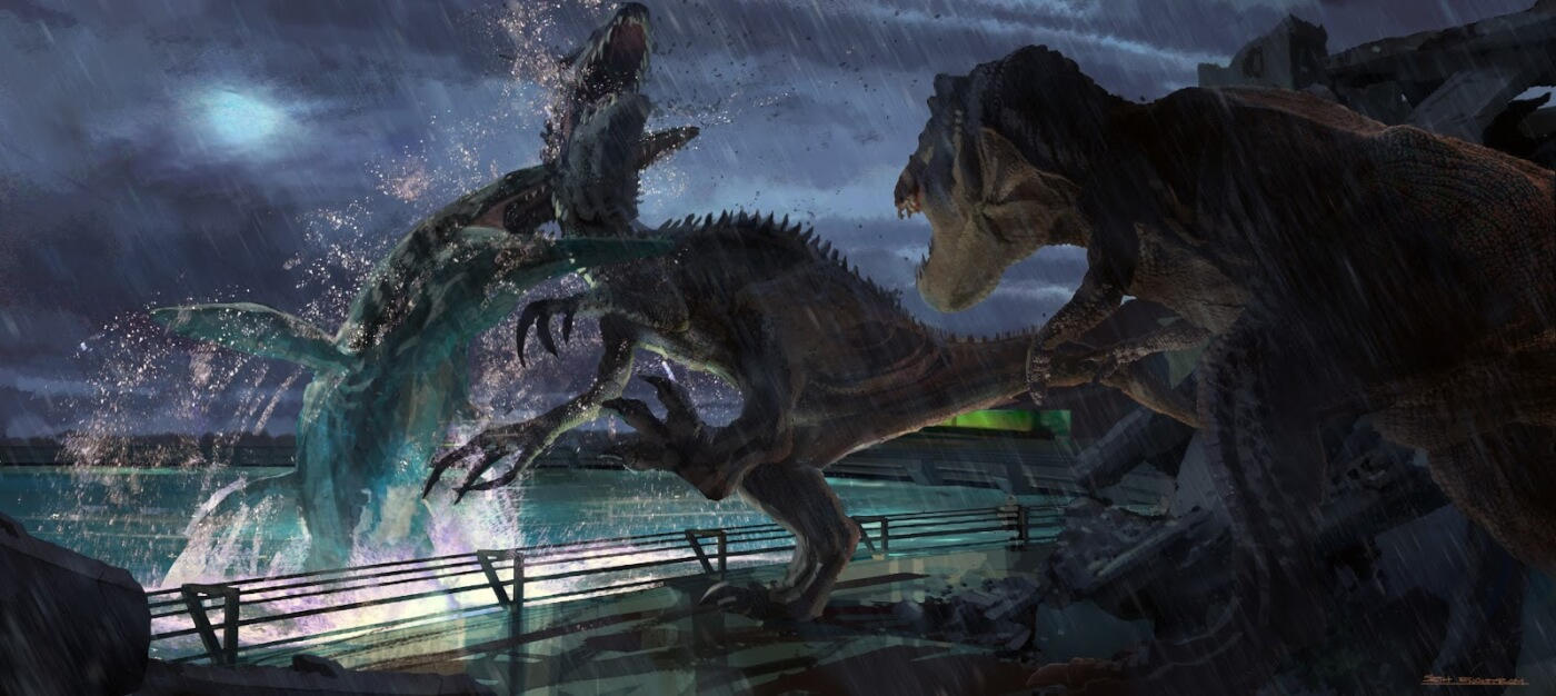 Новое видео обигре Jurassic World Evolution