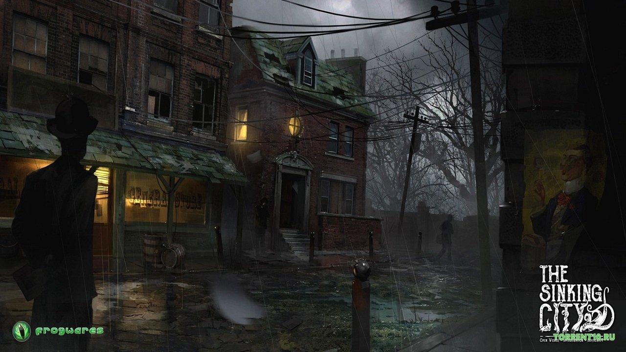 The Sinking City — еще одна игра потворчеству Лавкрафта