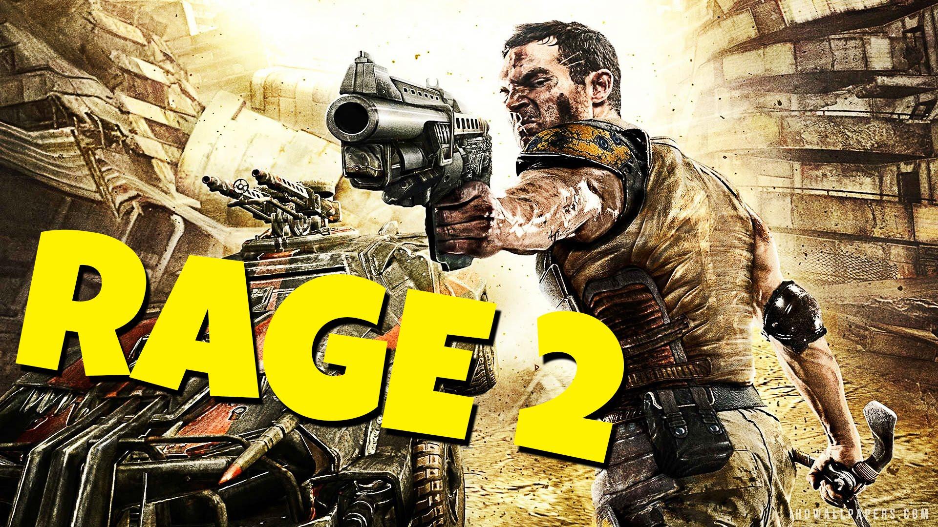 Возможный анонс Rage 2 отBethesda
