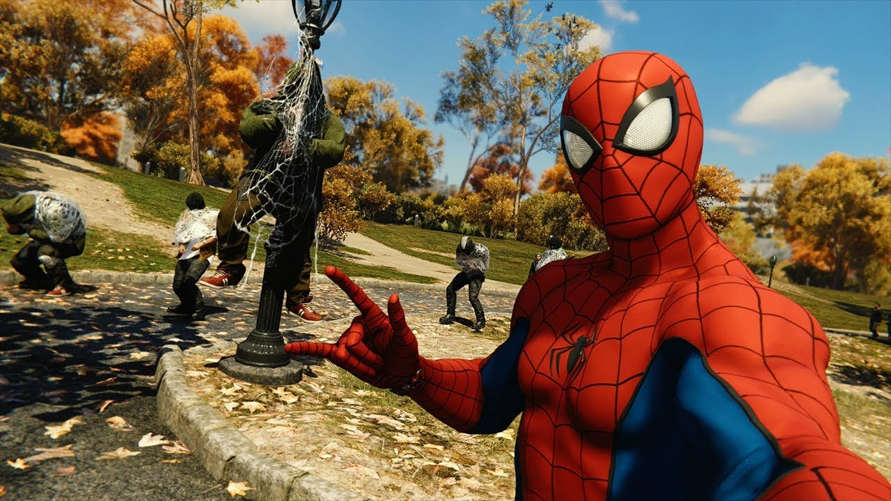 Новое DLC Marvel's Spider-Man
